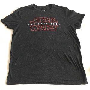 Star Wars The Last Jedi Logo T-shirt XXL